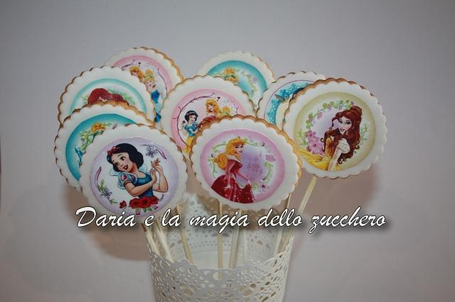 Disney princess cookies