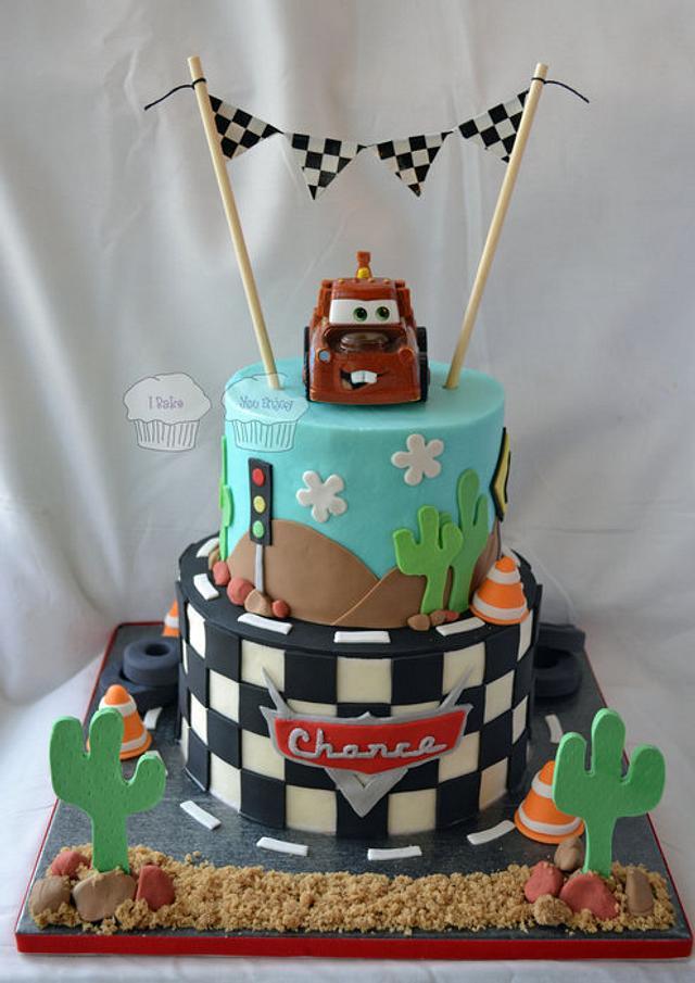 """""""Cars"""" Cake"""