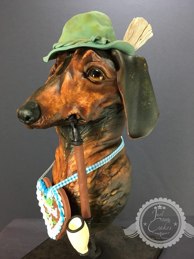 """""""Wastl"""" the dachshund"""
