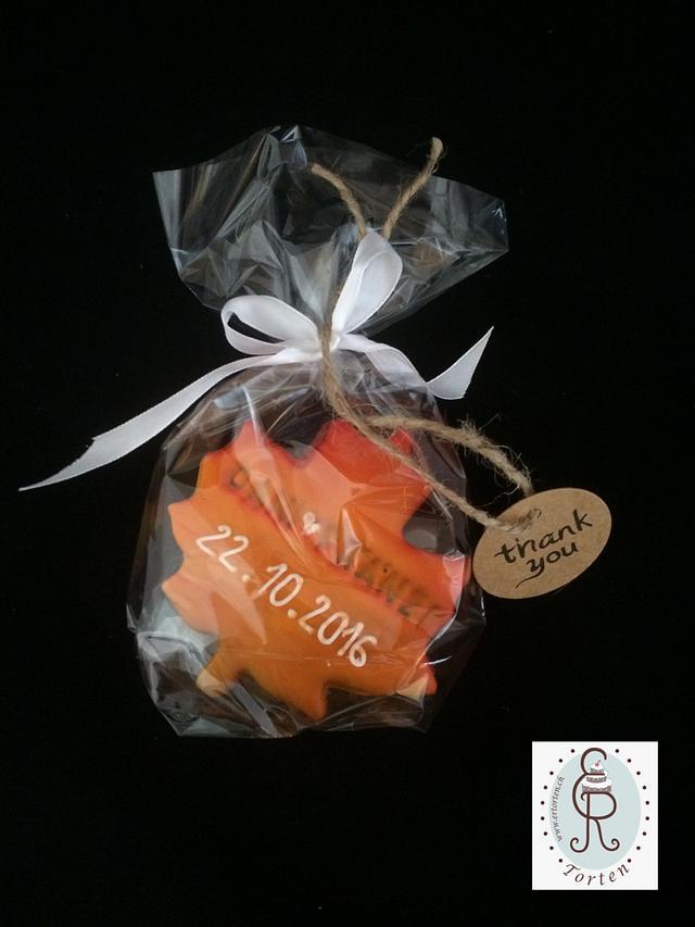 Autumn wedding sweettable