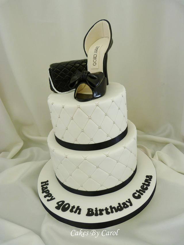 Jimmy Choo Shoe 40th Birthday
