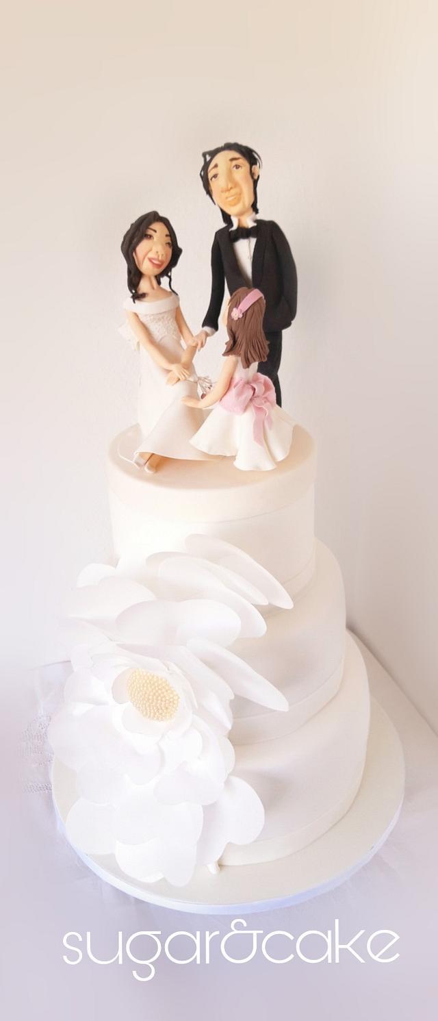 Wedding Cake happy family