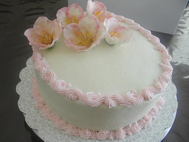 WASc with butter cream frosting
