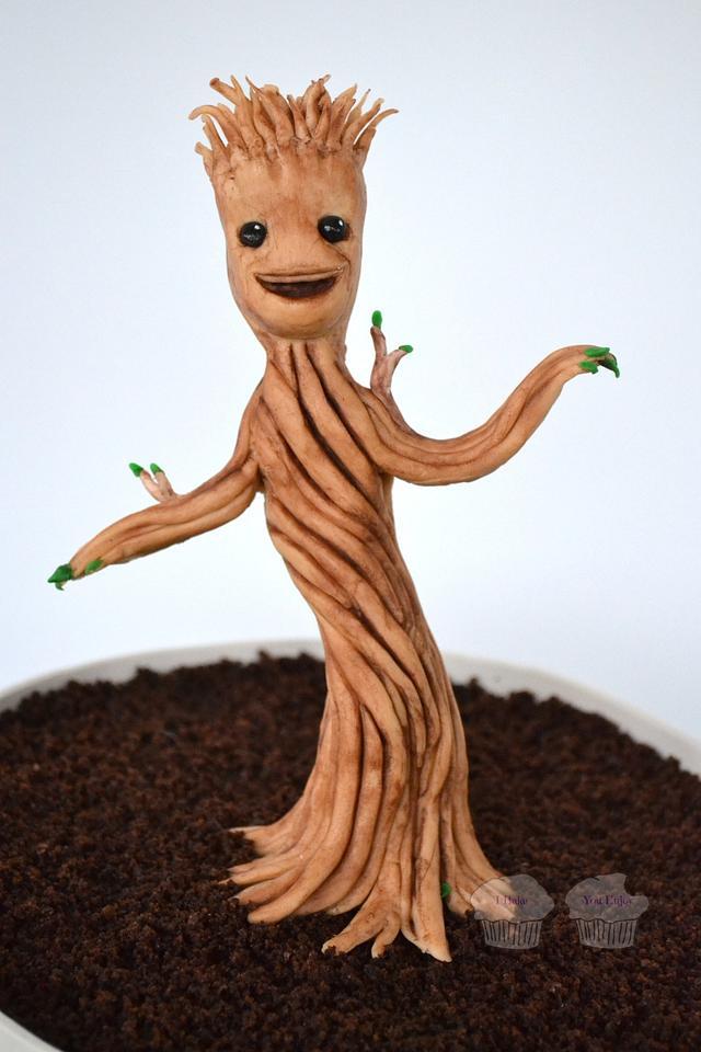 Dancing Little Groot