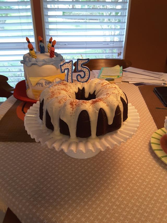 Black Cocoa Bundt Cake
