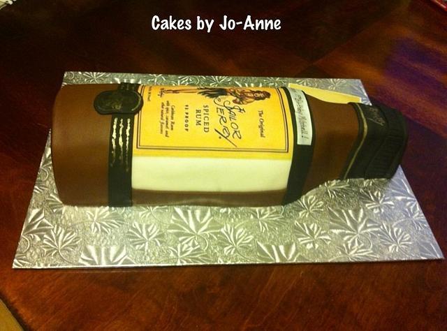 Sailor Jerry Spiced Rum Bottle