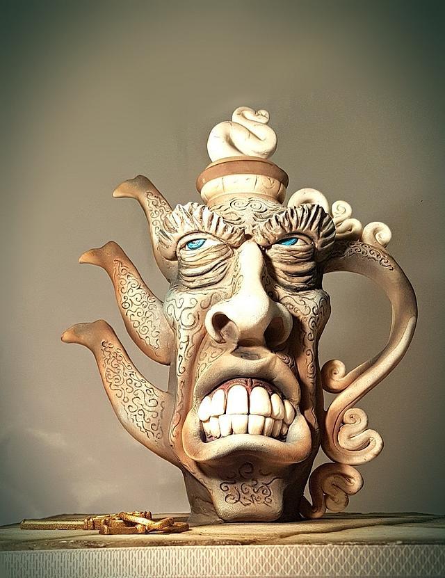 Cake International 2016 - Angry teapot
