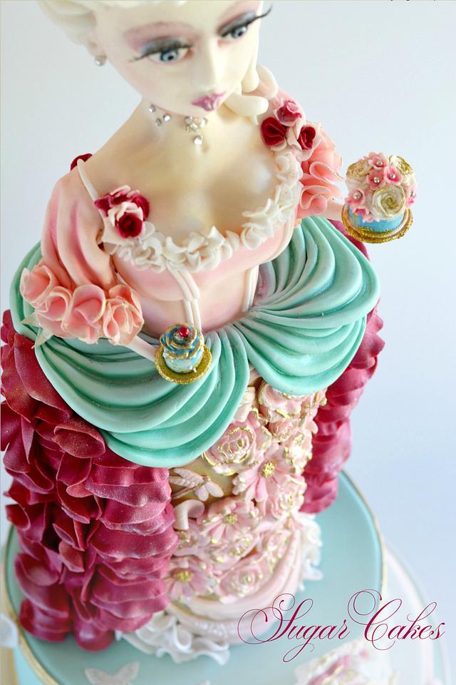 Marie Antoinette for CakeFlix Collaboration