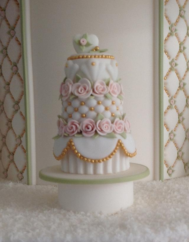 Silver award for my weddingcake