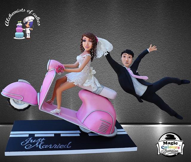 Gravity Wedding Cake!!!!