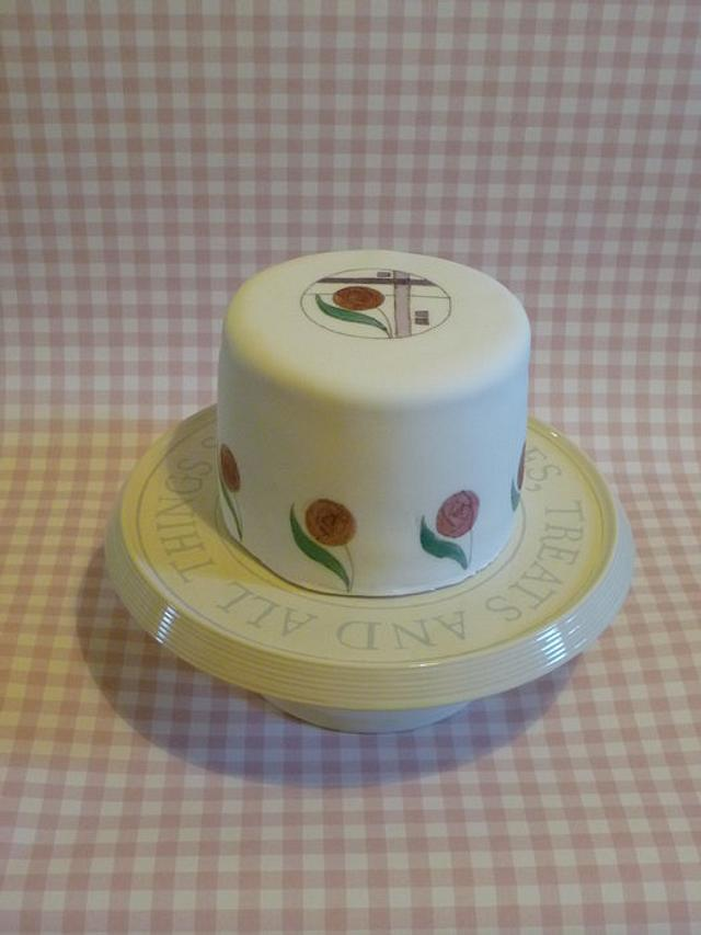 Rennie Mackintosh cakes