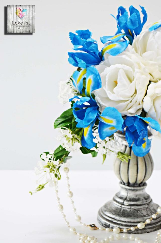Something blue... #LOVEISCOLLABORATION