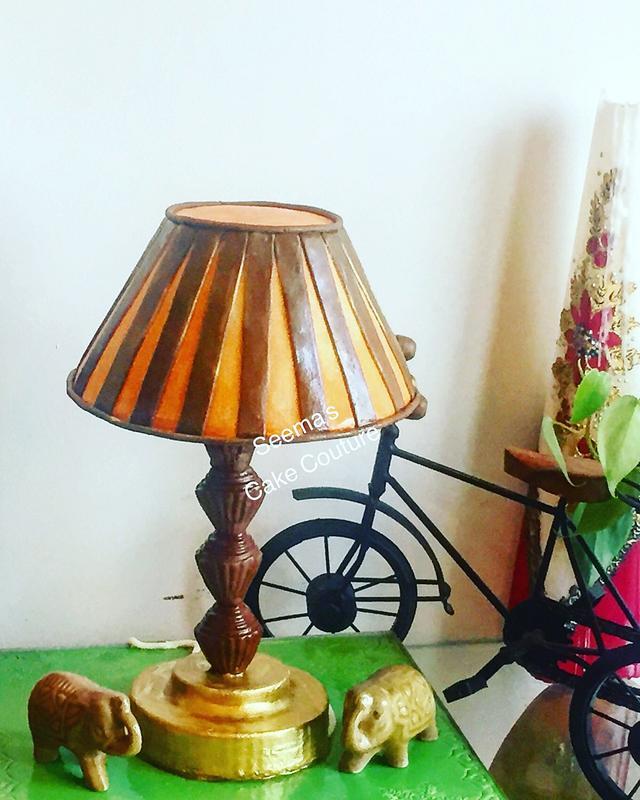 Lamp Cake!