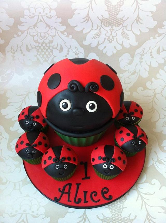 A lady bird giant!
