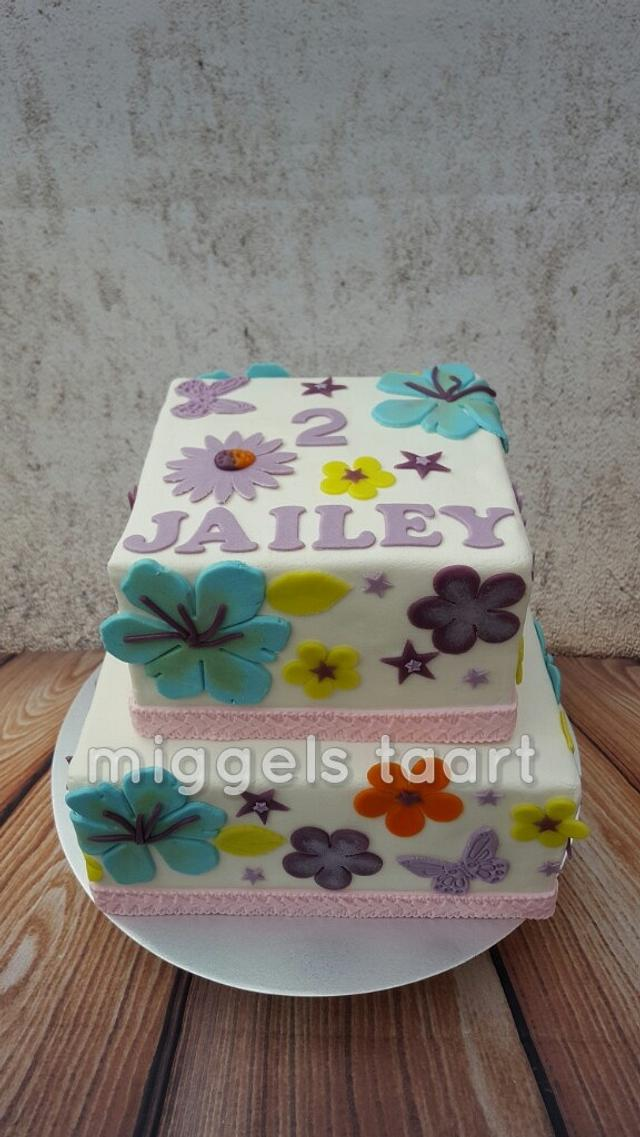 cake from wall paper