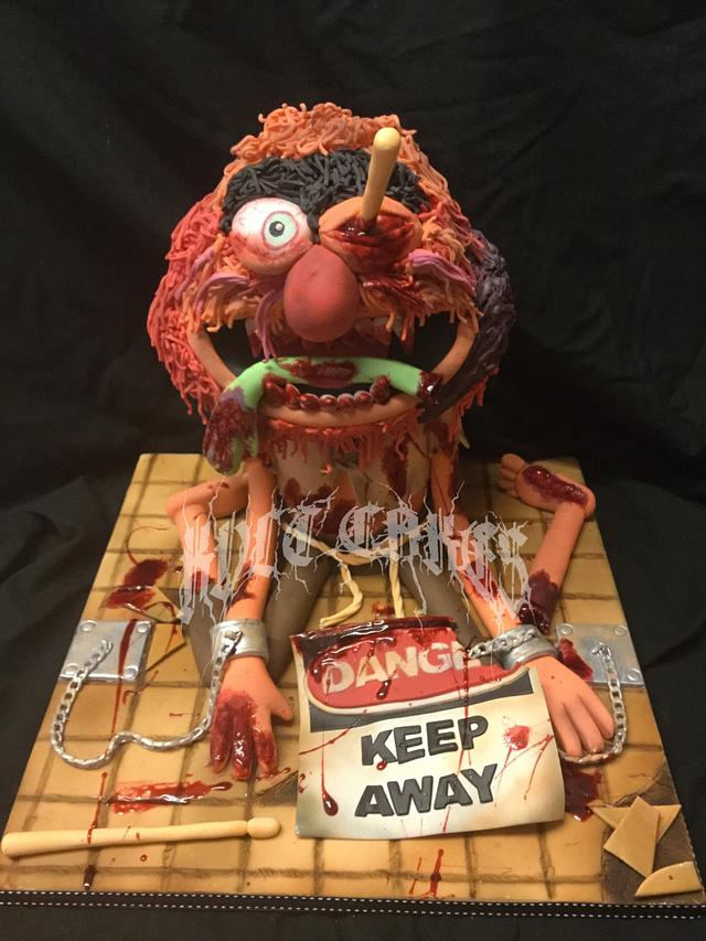The Sugar Art Zombies Collaboration - Zombie Animal