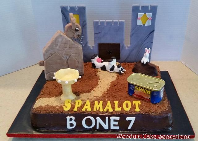 Spamalot the Musical, Cast Party Cake