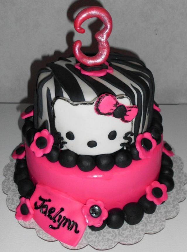 Hello Kitty Birthday Cake :)