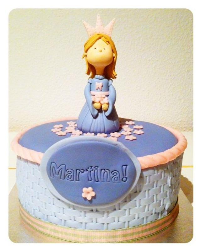 Cake for Martina's birthday