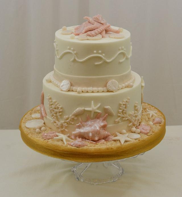 Beach Themed Cake 2