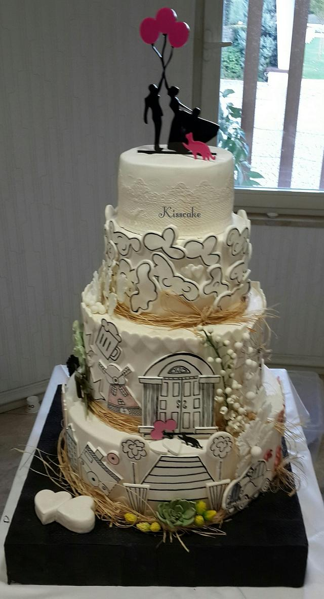 My Fantastic WeddingCake
