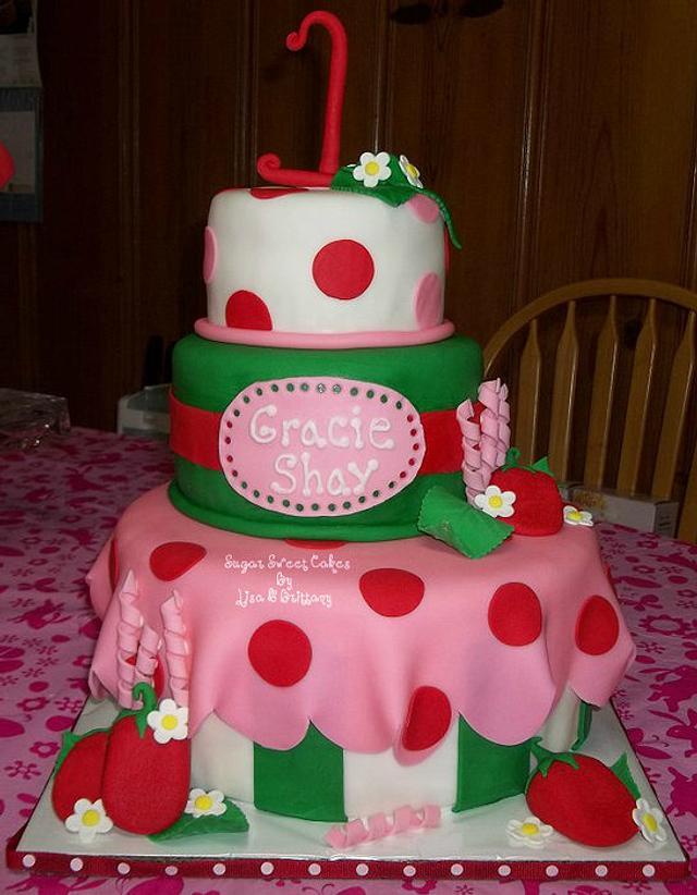 Strawberry Shortcake ~ 1st Birthday