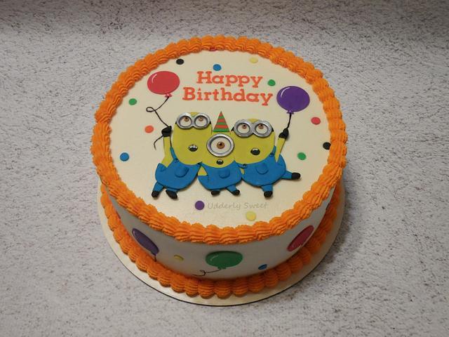 It's A Minion Birthday!