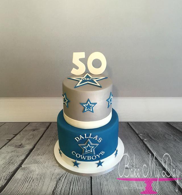 Dallas Cowboys Cake By Bake My Day Acadiana Cakesdecor