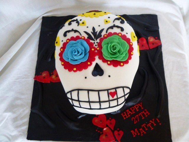 Skull cake