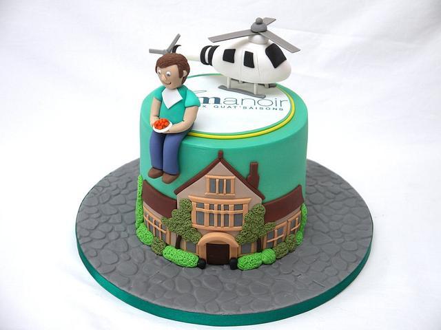 Le Manoir Aux Quat Saisons Cake!