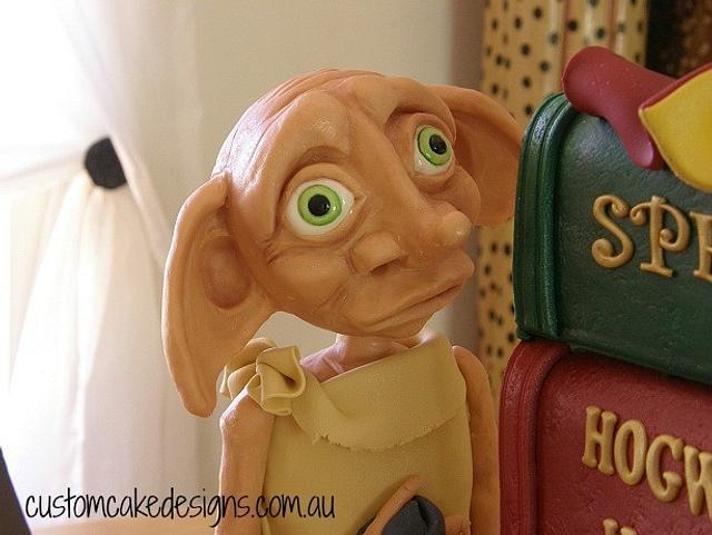 Dobby Harry Potter Cake