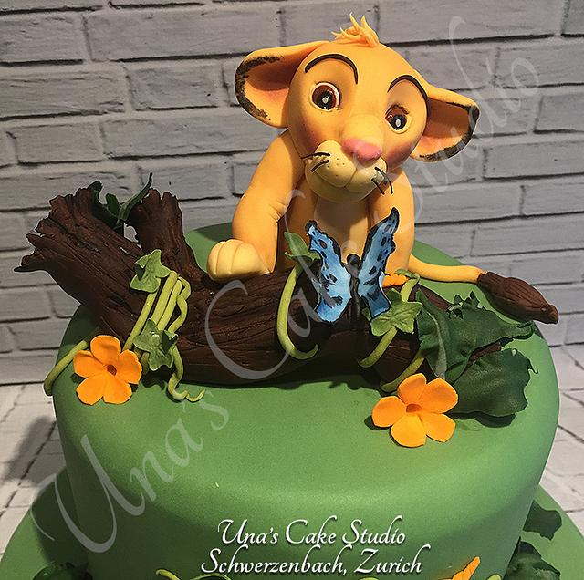 Simba Lion Cake
