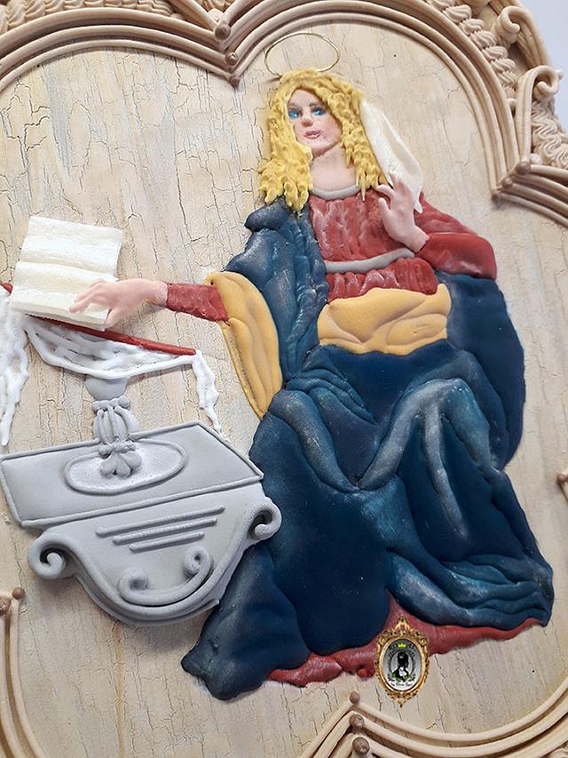 Annunciation - tribute to Leonardo Da Vinci