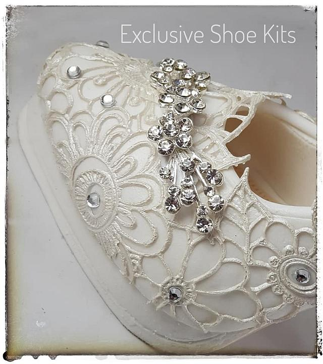 Wedding Lace Stiletto