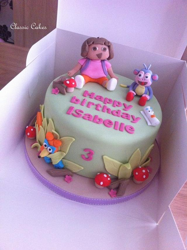 Brilliant Dora Birthday Cake Cake By Hayleyl Cakesdecor Personalised Birthday Cards Paralily Jamesorg
