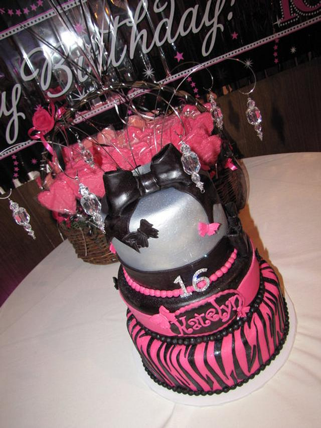 Sweet 16 Pink and Zebra