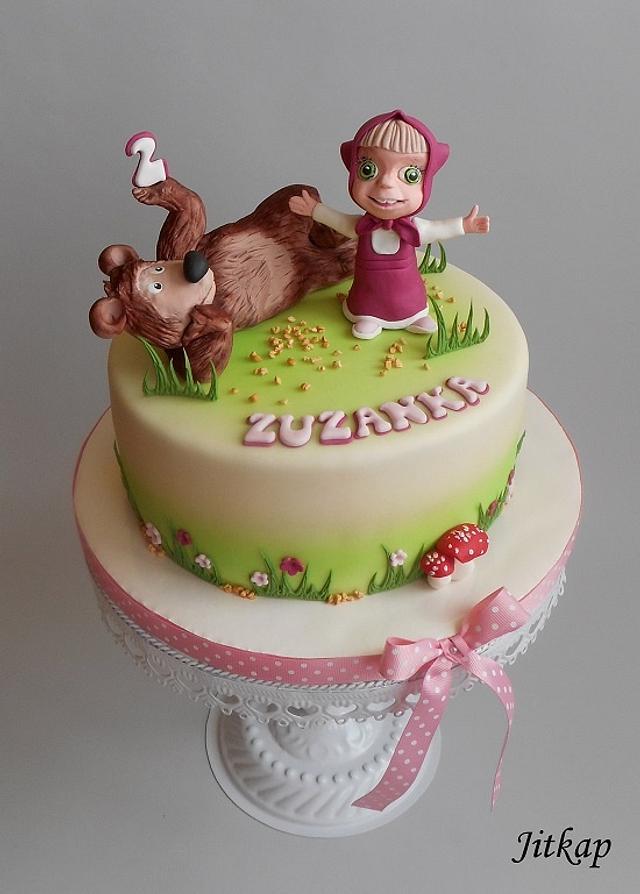 Máša a medvěd pro Zuzanku