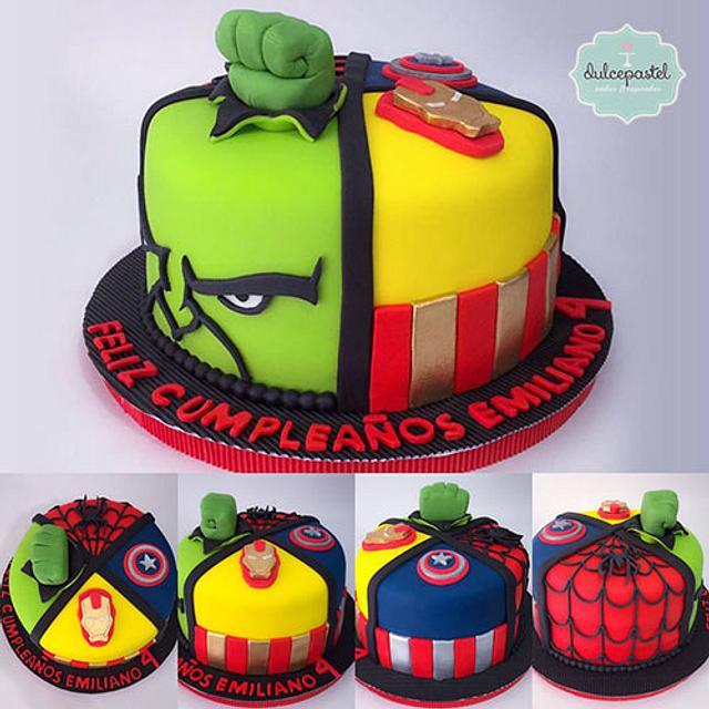 Torta Avengers Medellín -  Avengers Cake