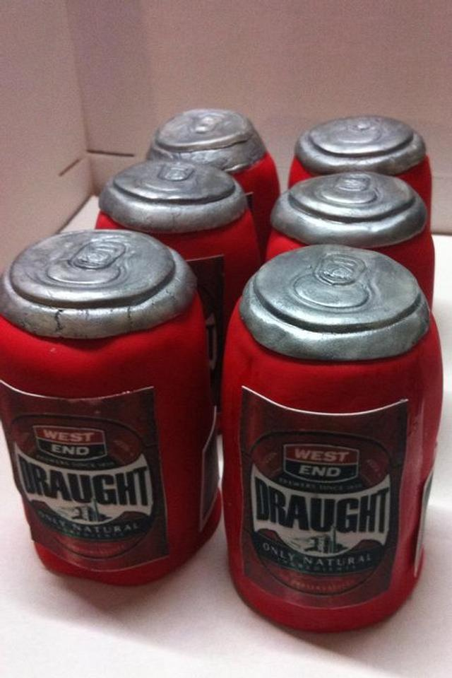 beer cans 6 pack