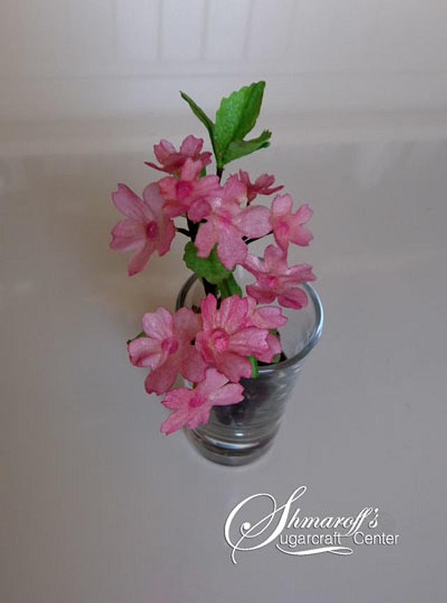 Cherry Blossom Wafer Paper Decoration