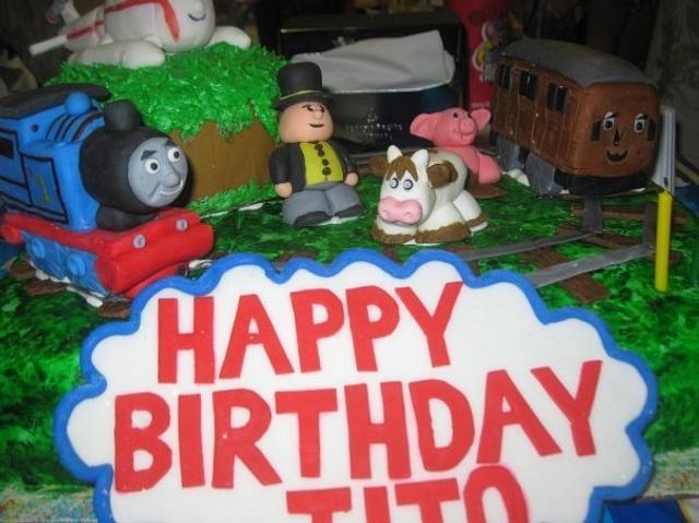 Thomas Birtday Cake