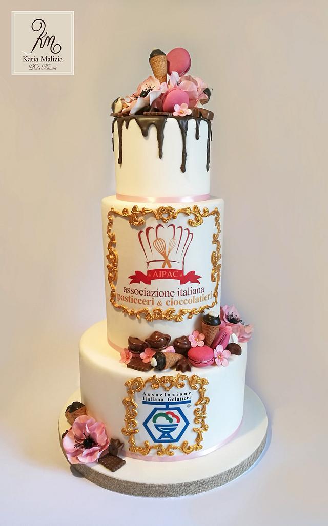 Pastry Drip Cake