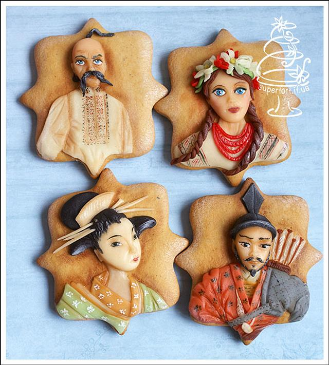 "Gingerbread ""Family Reunion"""