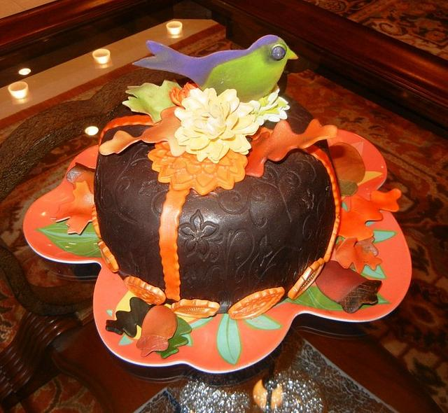 """Last Fall Cake for the Season"""