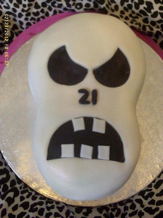 21st Birthday Skull