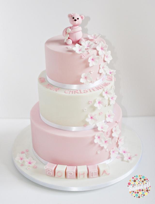 Sophia's Christening Cake