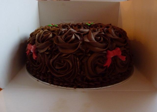 Chocolate Wreath Cake