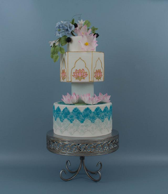 Moroccan Cake (Showpiece)