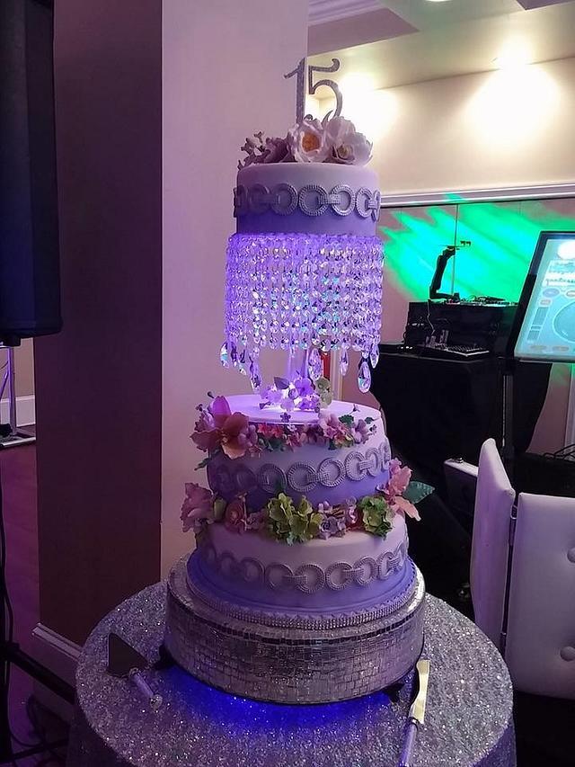 Sweet 15 Cake.