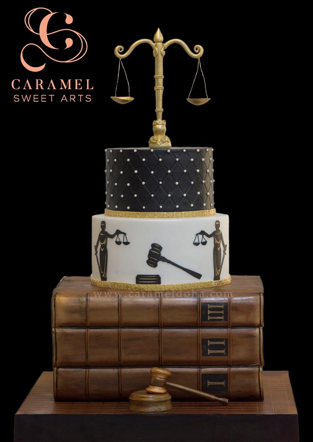 Law Justice Cake